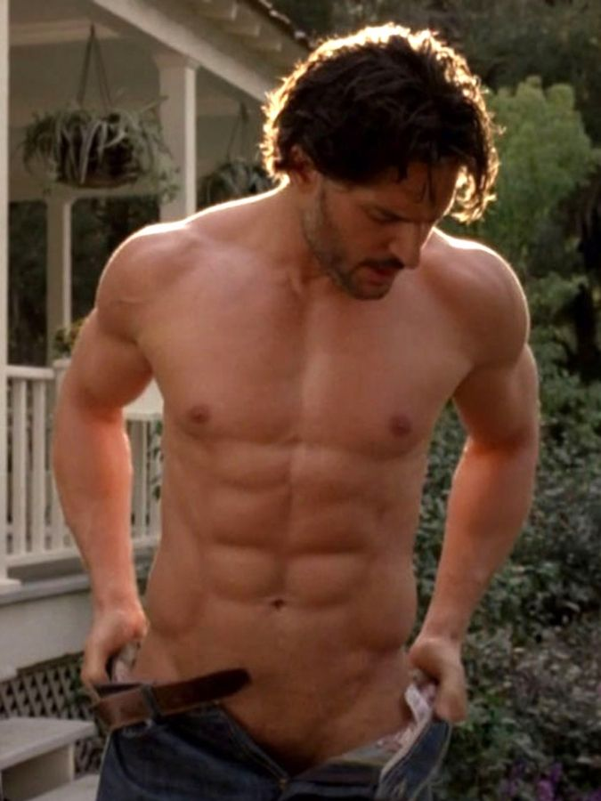 Joe Manganiello — Are the pants going up, or are the pants going down? ♡  oh .....my.....goodnessssss