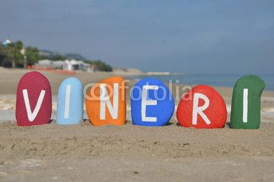 Vineri, friday, fifth day of the week in romanian language