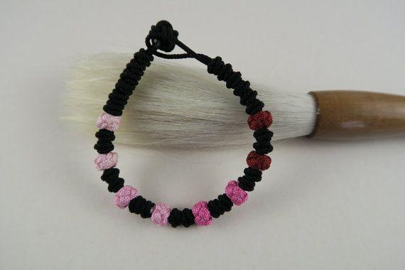 Korean Rainbow Maedeup Bracelet 4 – Ruby Reds