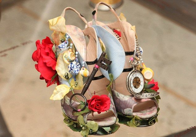 Cost more than my life I'm sure but these Nicholas Kirkwood heels are gorgeous.