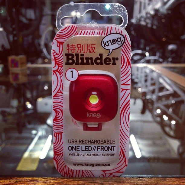 Blinder 1 Special Edition - Fan Photo: The limited edition Blinder 1. Made especially for Japan.     These will not be available in stores. Therefore, we will be running a competition in the New Year giving you guys the chance to win one of these limited edition lights.     Amazingly beautiful!