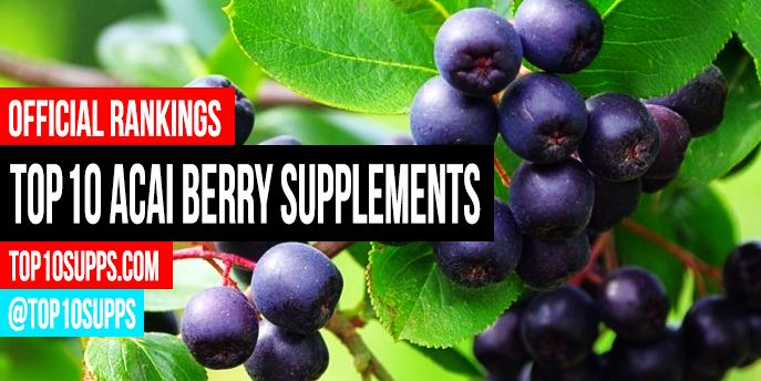We've ranked the best acai berry supplements you can buy right now. These top 10 acai berry products are the highest rated and best reviewed online.