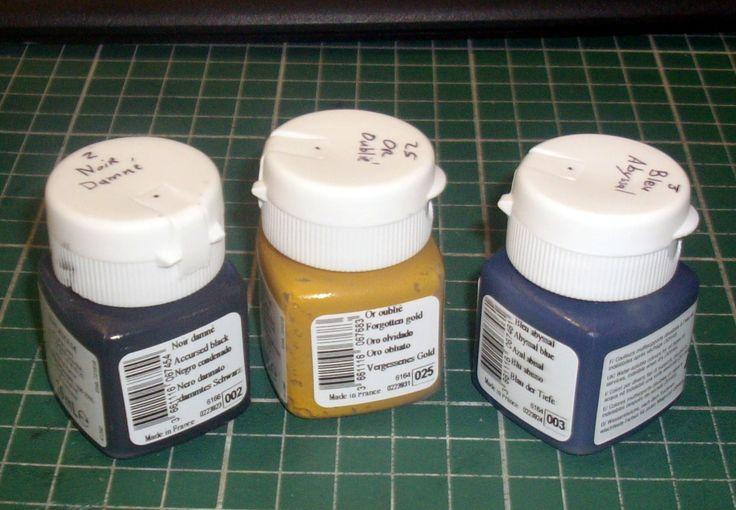 Tutoriel 5 - Récupérer un vieux pot de peinture acrylique
