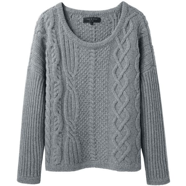 Rag & Bone Cara Pullover found on Polyvore