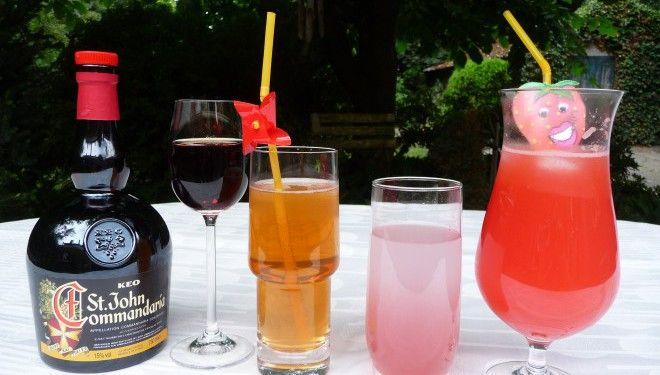 Drankjes, longdrinks en cocktails uit Cyprus.