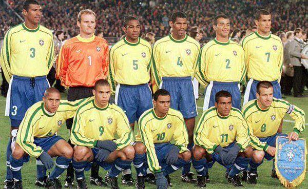 11 diferenças entre a seleção brasileira dos anos 90 e a atual ... 13cfc0256e8c5