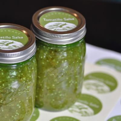 Ball's botulism proof tomatillo salsa recipe. Ph at 4, great for newbies. Found it through some blogger who deviated (dangerous unless you have temp and ph meters for cooking with) from the fool proof recipe (and threatened readers if they criticized her methods)... that type of attitude is always trustworthy... lolzies have at. her's too here: http://voodooandsauce.com/?p=3700