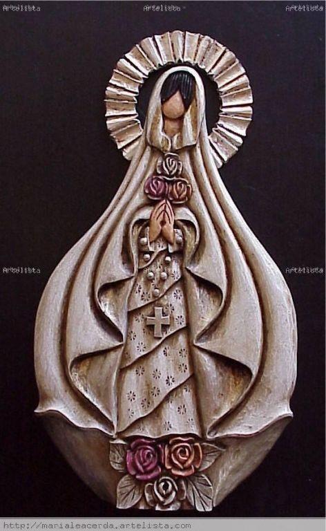 Ma. Lea Cerdá - Virgen de La Rosa Mistica