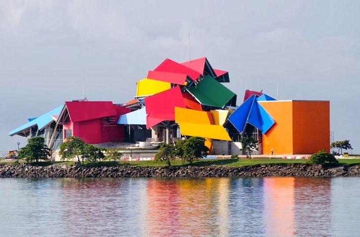 ALLPE Medio Ambiente Blog Medioambiente.org : El biomuseo de Frank Gehry para la ciudad de Panamá