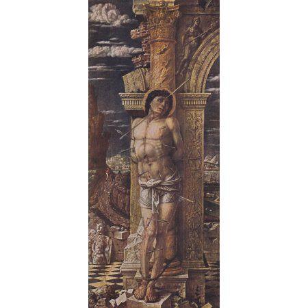 Worlds Great Pictures 1909 St Sebastian Canvas Art - Andrea Mantegna (18 x 24)