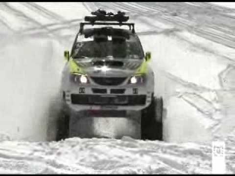 Subaru 4x4 sur chenilles