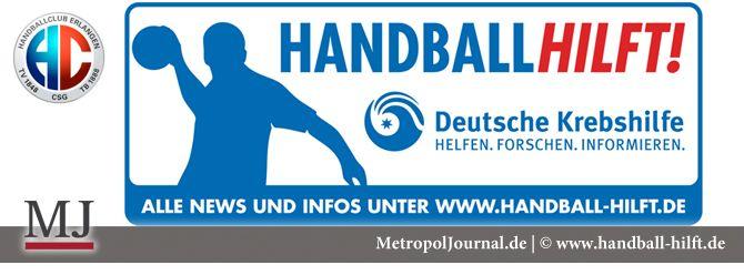 (ER) Der HC Erlangen unterstützt die Deutsche Krebshilfe  - http://metropoljournal.de/metropol_report/freizeit_sport/er-der-hc-erlangen-unterstuetzt-die-deutsche-krebshilfe/