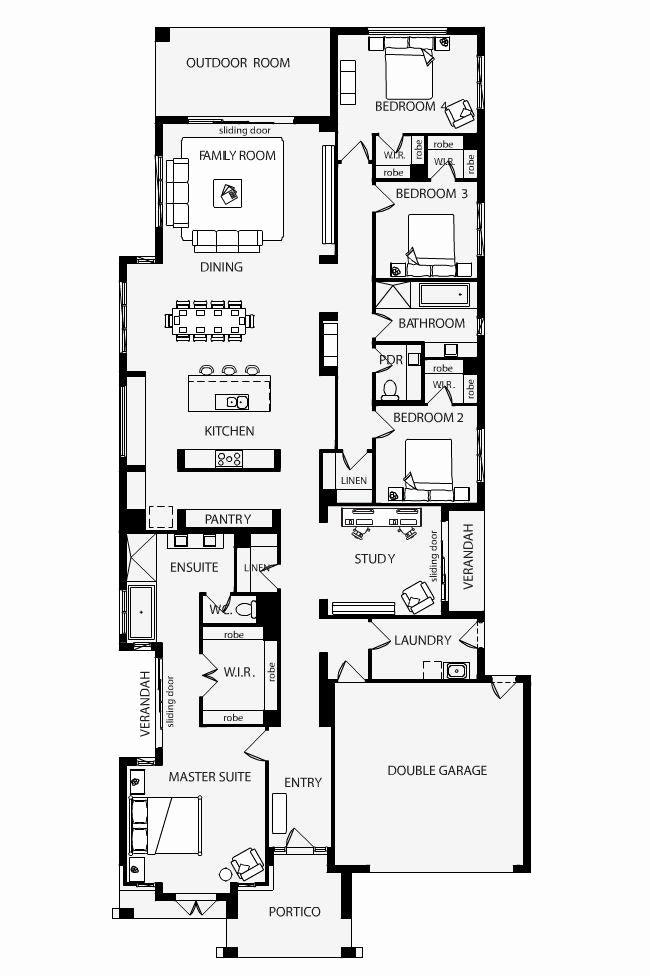 Narrow House Plans Nz Narrow House Plans Garage House Plans Narrow Lot House Plans House floor plan nz