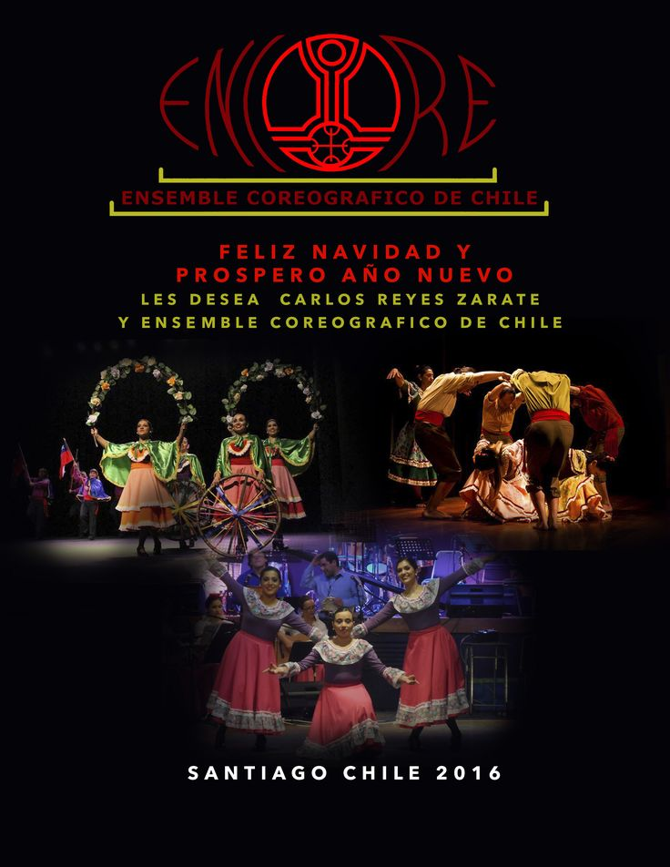 Encore De Chile y su director Sr. Carlos Reyes Zarate les desea Una feliz Navidad Y un prospero año nuevo 2017 https://www.youtube.com/user/EncoreChile