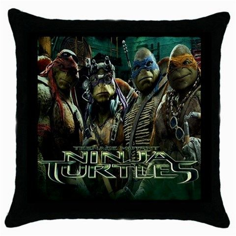 Throw pillow case Ninja turtle  best gift for husband, best gift for wife, best gift for girlfriend, best gift for grandma, best gift for grandchildren, best gift for sister, best gift for brother, best gift for son, best gift for daughter, best gift for boy, best gift for gift, best gift for mom, best gift for dad
