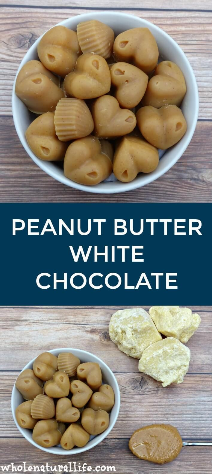 Homemade peanut butter white chocolate | White chocolate recipe | Cocoa butter recipes | Cocoa butter chocolate
