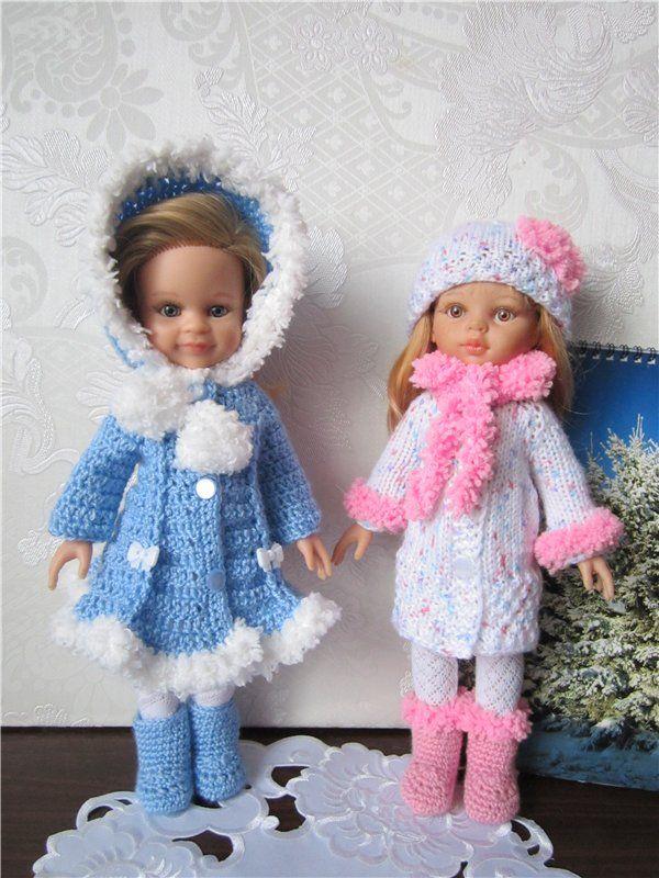 Теплые наряды для паолочек. / Одежда для кукол / Шопик. Продать купить куклу / Бэйбики. Куклы фото. Одежда для кукол