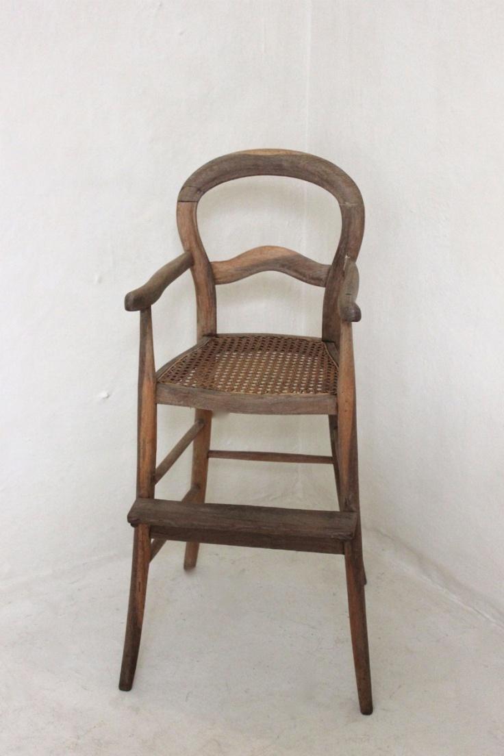 Antique toilet chair - Antique High Chair
