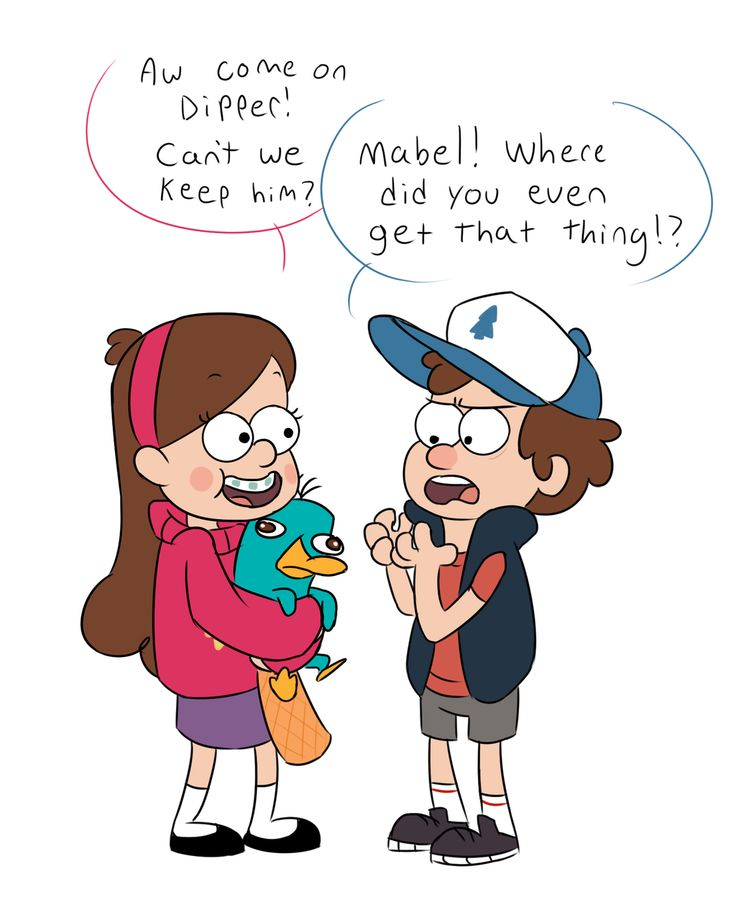 Gravity Falls - Mabel and Dipper find a New Pet by torakodragon.deviantart.com on @deviantART