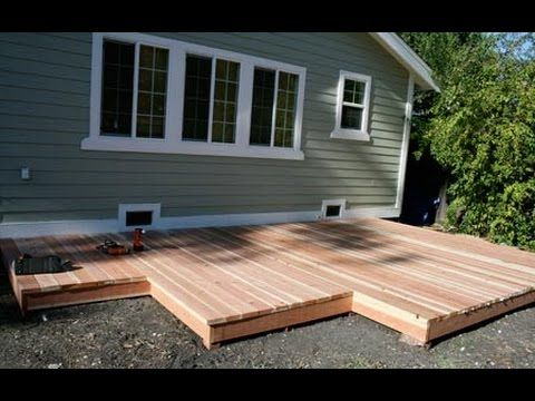 Build Deck | Build Deck Box Stairs