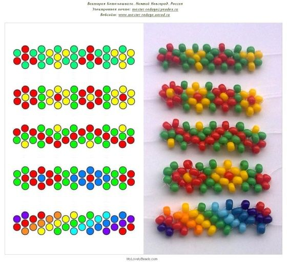 daisy chain variations