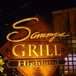 Sammy's Grill, Baton Rouge, LA 8635 Highland Rd Baton Rouge, LA 70808 http://www.yelp.com/biz/sammys-grill-baton-rouge Crawfish Etouffee, Alligator, Strong drinks according to Drinking Made Easy