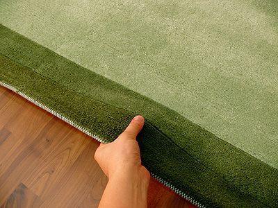 Indo Nepal Teppich Urbana Grün Teppiche Nepal, Gabbeh und Kelim Teppiche Indo…