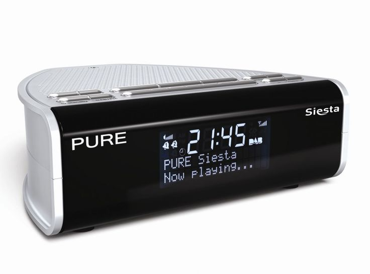 New Pure DAB radio has green credentials   DAB radio specialist Pure has just launched the Pure Siesta, a compact DAB/FM clock radio. It's one of Pure's cheapest models too, yours for only £49.99. And despite the sub-£50 price tag, the Pure Siesta doesn't cut too many technical corners Buying advice from the leading technology site