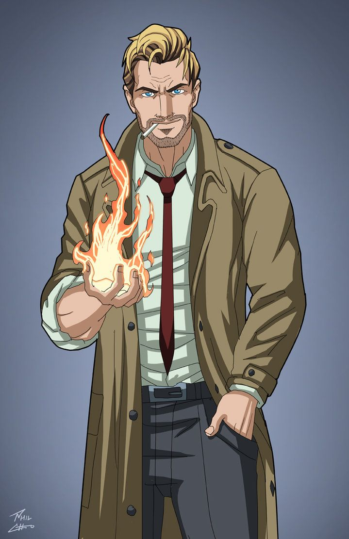 John Constantine (Earth-27) commission by phil-cho on DeviantArt
