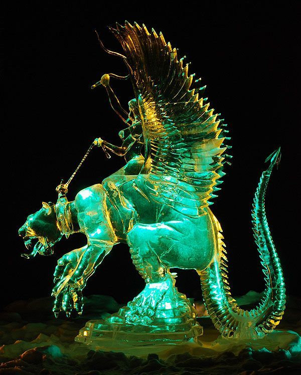 ice sculptures | Awesome Ice Sculptures (20 pics)