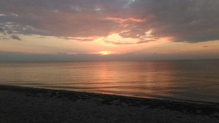 #sunset #amazing #sea