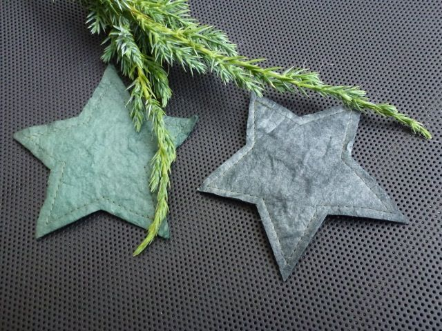 Paperstars  made by UNNI HOFF