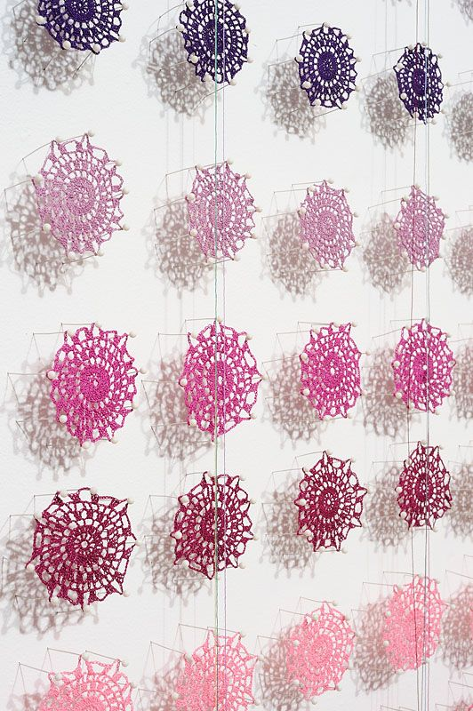 beautiful collaborative art installation from Lisa Solomon
