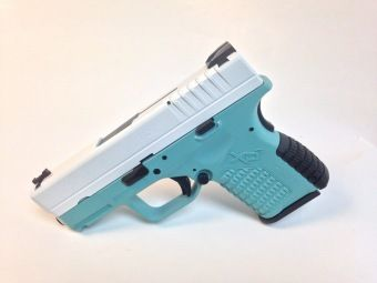 For Sale: Tiffany Blue SS Springfield XDS-9 9mm