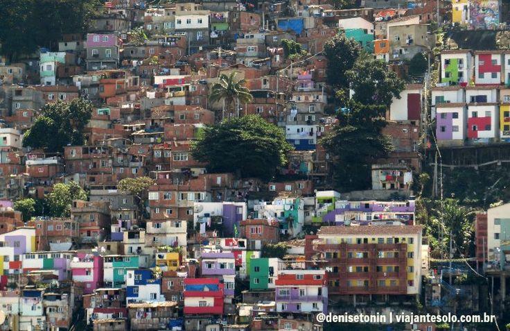 Favela Santa Marta simpatia e uma vista deslumbrante da Zona Sul | Viajante Solo