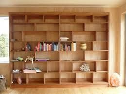 plywood shelving - would look good in front of a dark gray wall, in the back section of my basement.