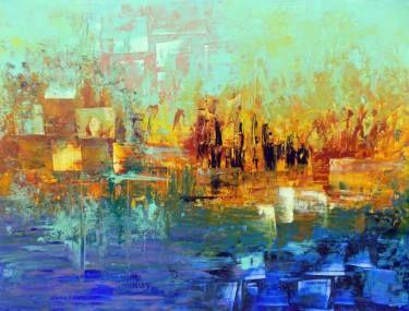 "Saatchi Art Artist Areti Ampi; Painting, ""Summer memories"" #art"