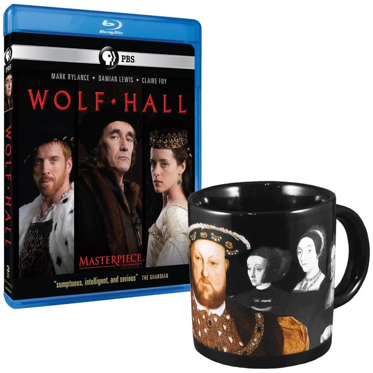 Masterpiece: Wolf Hall Blu-ray & Disappearing Wives of Henry VIII Mug