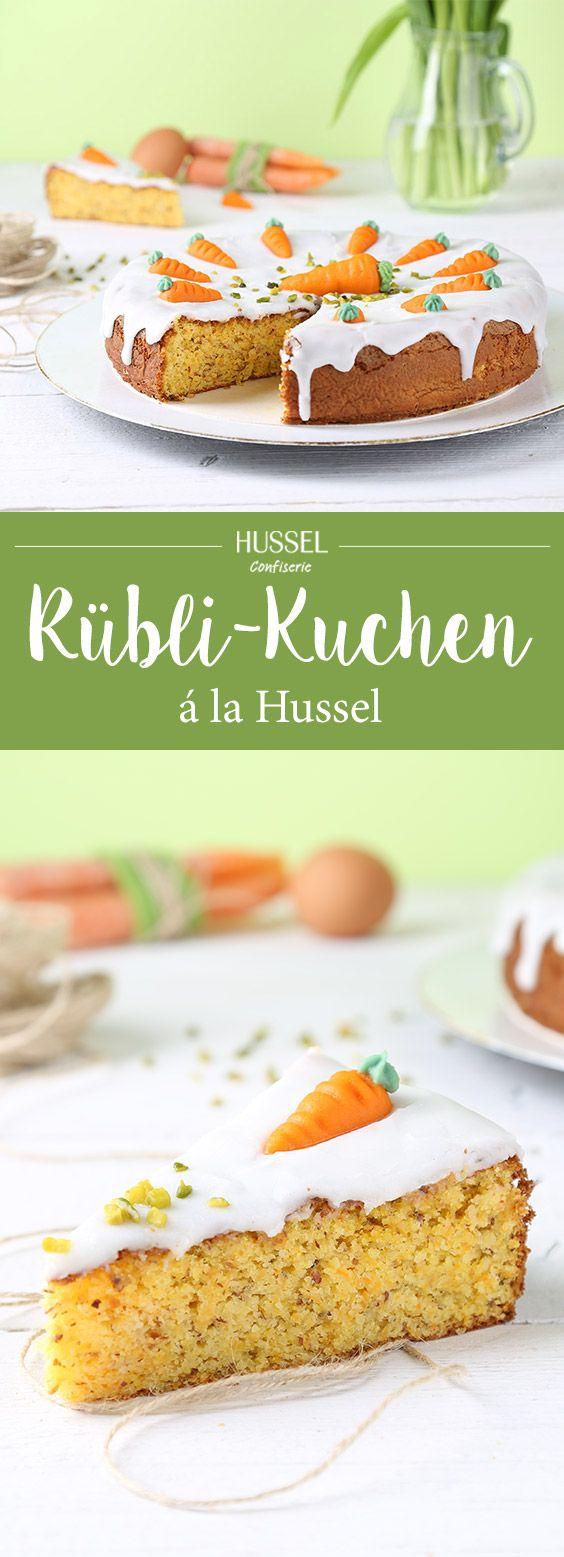 Rübli-Kuchen á la Hussel - Hussel Confiserie