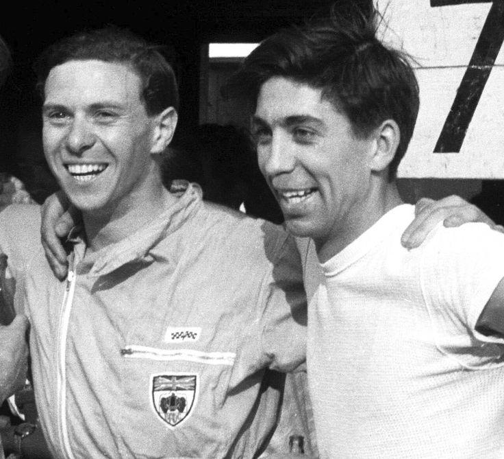 Jim Clark and Alan Stacey