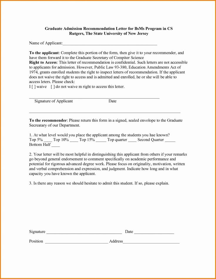 42+ Mba recommendation letter format ideas in 2021