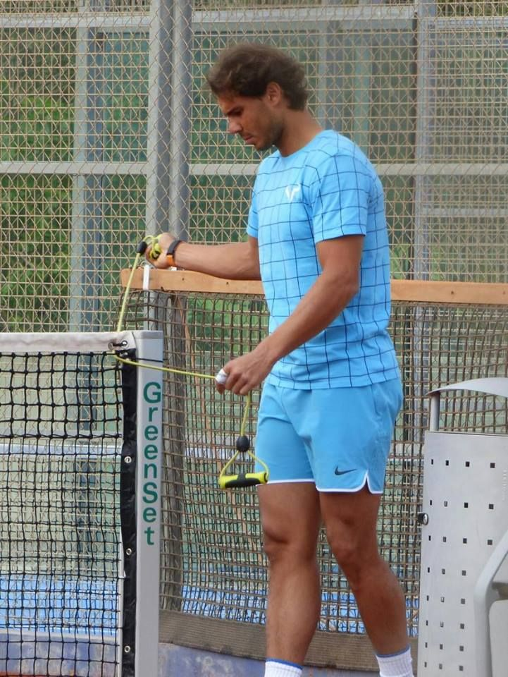 PHOTOS/VIDEO: Rafael Nadal's practice with Andy Murray in Manacor. 28 April 2016 - 28 Апреля 2016 - RAFA NADAL - KING OF TENNIS