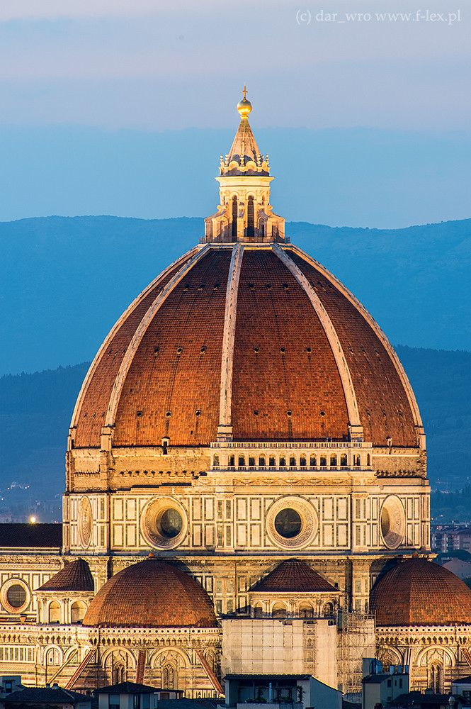 Cupola del Brunelleschi, Duomo, Florence, Italy | Filippo Brunelleschi (1420) (Cúpula de la Catedral de Florencia) (Adriana Estrella)