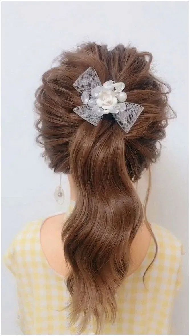 113 fall half up hairstyles page 5 | Armaweb07.com