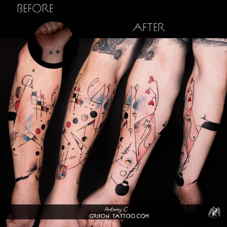 grifon #tattoo #antonyc #limassol #ink #tattoolove #coverup ...