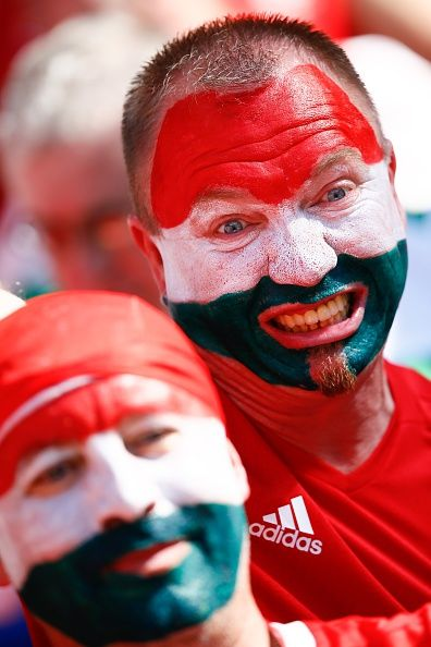#EURO2016 Fans enjoy the atmosphere prior to the UEFA EURO 2016 Group F match between Hungary and Portugal at Stade de Lyon in Lyon France on June 22 2016
