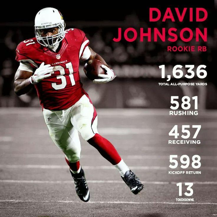 Arizona Cardinals RB David Johnson. Former UNI standout.