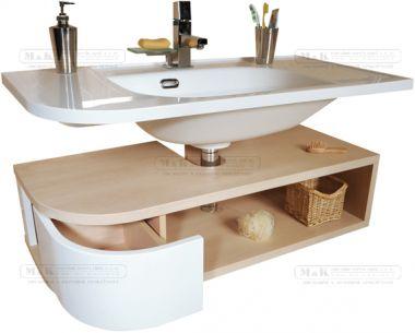 Skříňka pod umyvadlo š. 96cm, č.153   Skříňky pod umyvadla   Koupelnový nábytek   M&K koupelny, vany, baterie, dřezy, keramika, sprchové kouty, nábytek, ohřívače