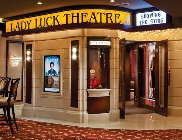 Home Theater Entrance With Ticket Booth Bing Images