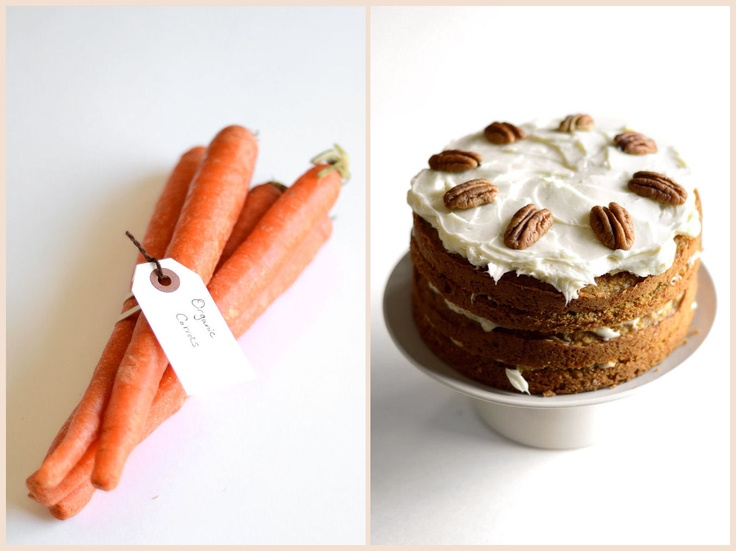 Carrot Cake with Maple Cream Cheese Frosting... Made this for the dear ...